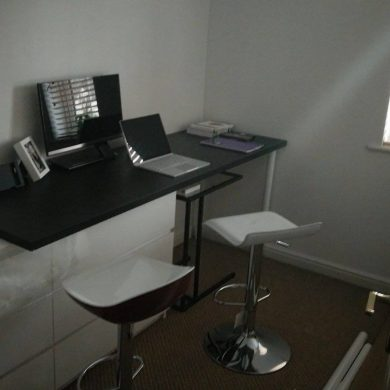 Bar stool and computer stand