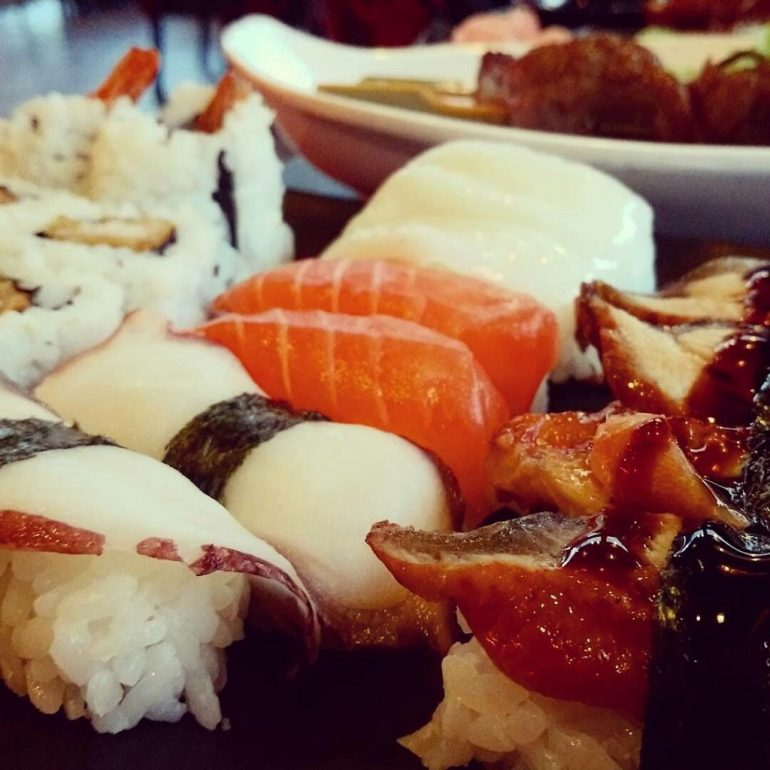 japanese sushi the bamboo tales