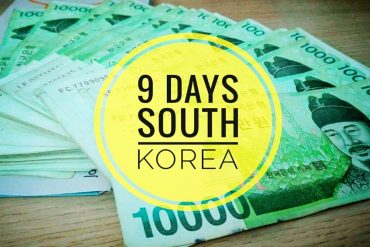 vlog 9 days until south korea