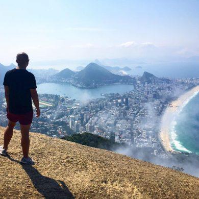 Glenn Angelo travels minimalist backpacker