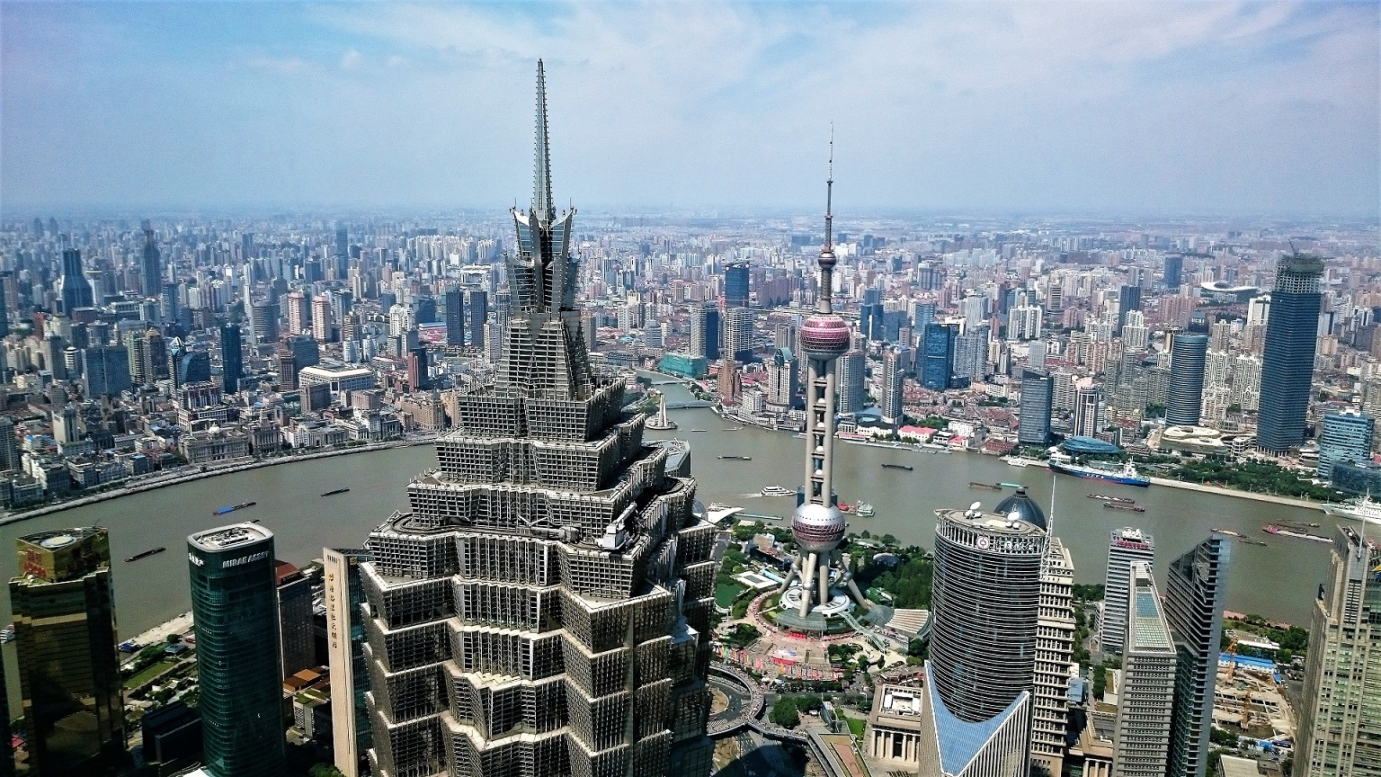 Park hyatt shanghai review luxury heights one tech - Shanghai infinity pool ...