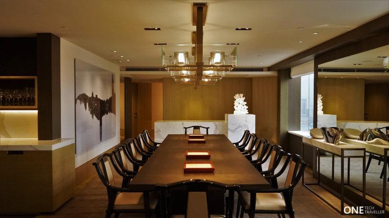 Grand Hyatt Hong Kong Presidential Suite Dining Room