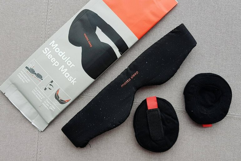 MANTA SLEEP MASK REVIEW PACKAGE ONE TECH TRAVELLER