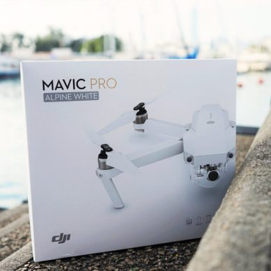 MAVIC PRO ALPINE WHITE UNBOXING ONE TECH TRAVELLER