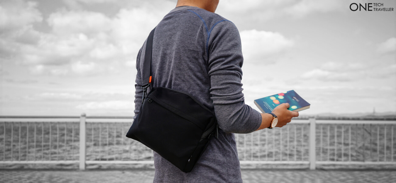 ITR STUDIO ONE BACKPACK REVIEW ONE TECH TRAVELLER SLING LIFESTYLE