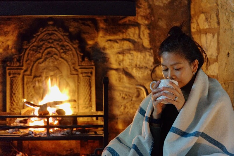 YAASA ELEMENTS BLANKET ONE TECH TRAVELLER REVIEW FIREPLACE