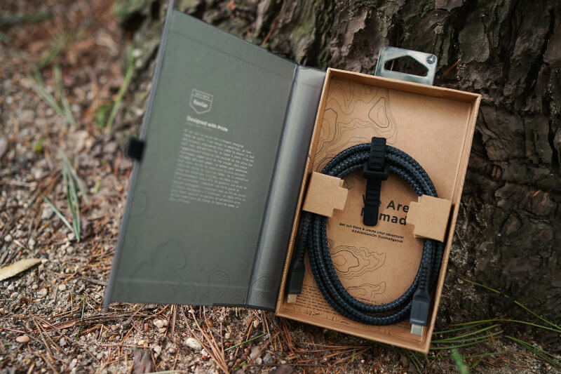 NOMAD GEAR ONE TECH TRAVELLER KEVLAR USB C CABLE