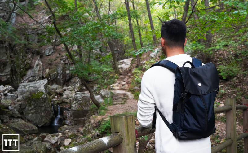 VICTORINOX ALTMONT ORIGINAL FLAPOVER BACKPACK REVIEW ONE TECH TRAVELLER FOREST