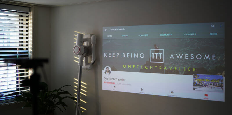 PRIMA X2 PROJECTOR REVIEW ONE TECH TRAVELLER YOUTUBE