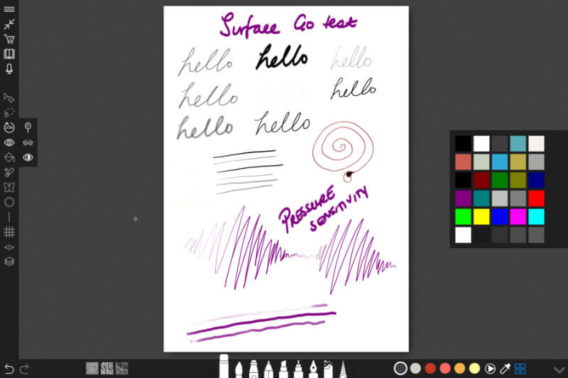 SURFACE GO SOFTWARE ONE TECH TRAVELLER SKETCHABLE