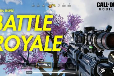 CALL OF DUTY MOBILE BATTLE ROYALE ONE TECH TRAVELLER SAKURA SNIPES EP1
