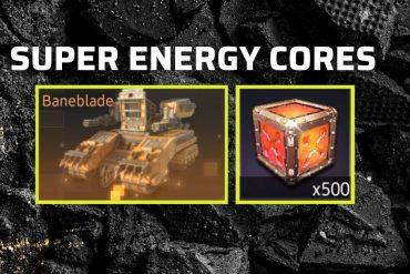 BANEBLADE SUPER ENERGY CORE GUIDE