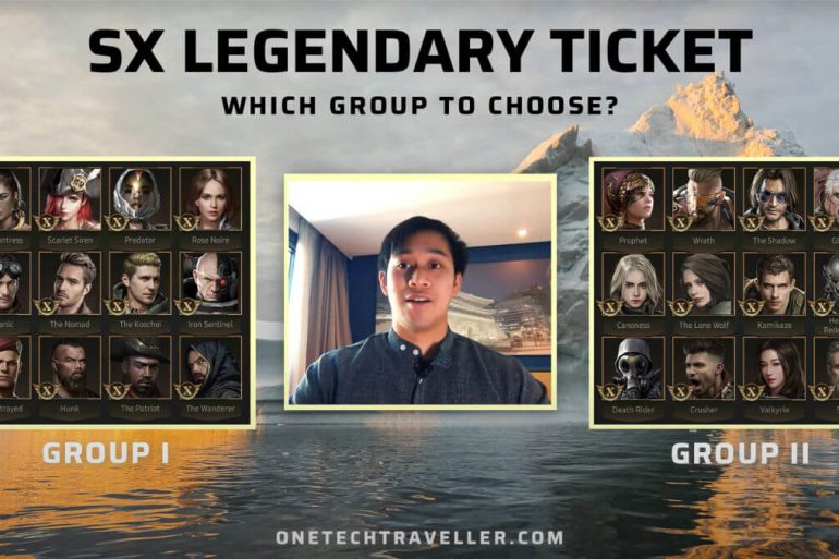 LAST SHELTER SX TICKET WHICH GROUP TO CHOOSE ONE TECH TRAVELLER HERO